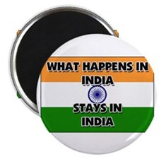 What Happens In INDIA Stays There Magnet