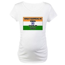 What Happens In INDIA Stays There Shirt