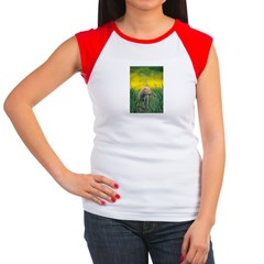 Wolf Pup Women's Cap Sleeve T-Shirt