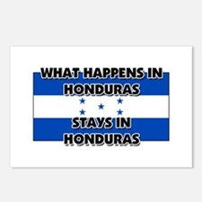 What Happens In HONDURAS Stays There Postcards (Pa