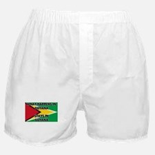 What Happens In GUYANA Stays There Boxer Shorts
