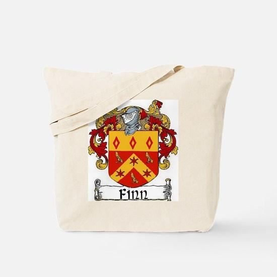 Finn Coat of Arms Tote Bag