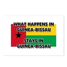 What Happens In GUINEA-BISSAU Stays There Postcard