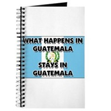 What Happens In GUATEMALA Stays There Journal