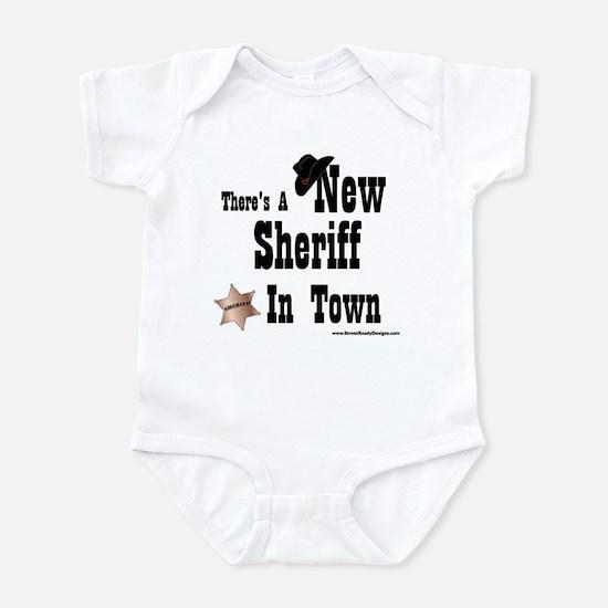 """New Sheriff In Town"" Infant Bodysuit"