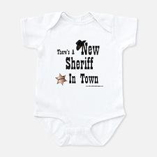 """New Sheriff In Town"" Onesie"