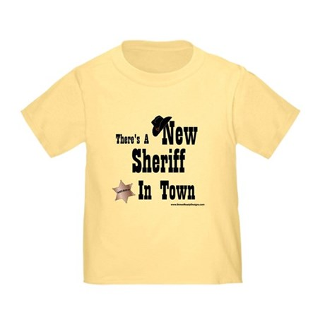"""""""New Sheriff In Town"""" Toddler T-S"""