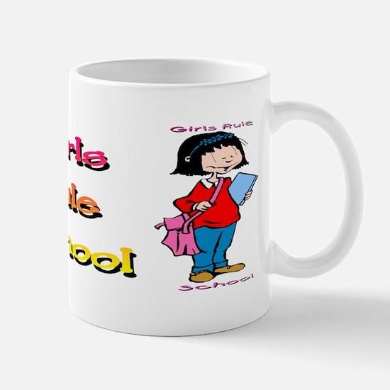 Girls Rule School Mug