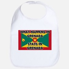 What Happens In GRENADA Stays There Bib