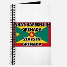 What Happens In GRENADA Stays There Journal