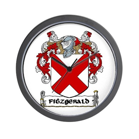 Fitzgerald Coat of Arms Wall Clock