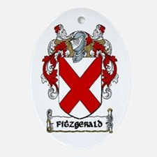 Fitzgerald Coat of Arms Keepsake Ornament