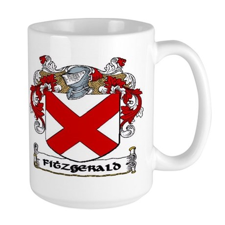 Fitzgerald Coat of Arms Large Mug