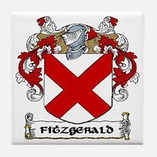 Fitzgerald Coat of Arms Ceramic Tile