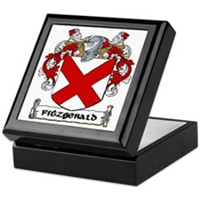Fitzgerald Coat of Arms Keepsake Box
