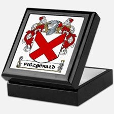 Fitzgerald Coat of Arms Keepsake Box