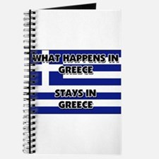 What Happens In GREECE Stays There Journal