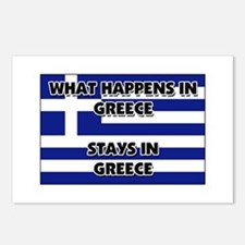What Happens In GREECE Stays There Postcards (Pack