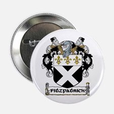 "Fitzpatrick Coat of Arms 2.25"" Button (10 pack)"