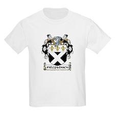 Fitzpatrick Coat of Arms Kids T-Shirt