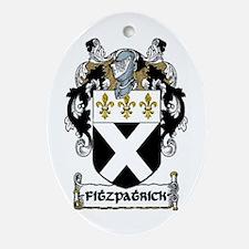Fitzpatrick Coat of Arms Keepsake Ornament