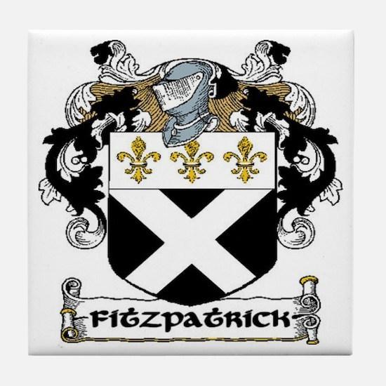 Fitzpatrick Coat of Arms Ceramic Tile