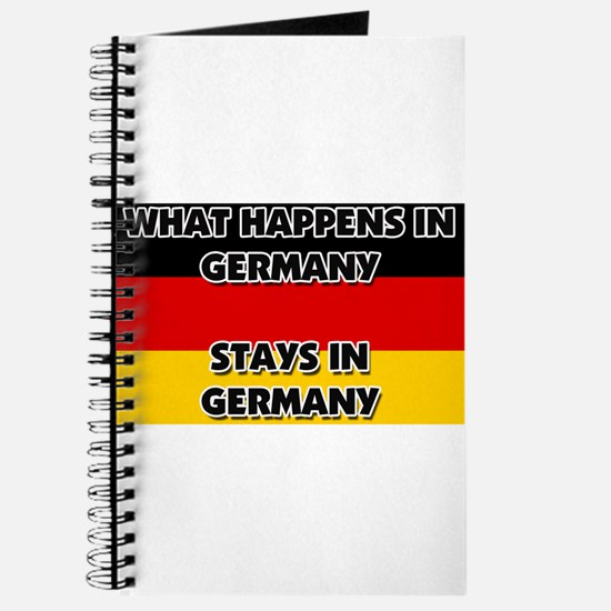 What Happens In GERMANY Stays There Journal