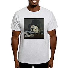 Masonic Skull Wearing Tile T-Shirt