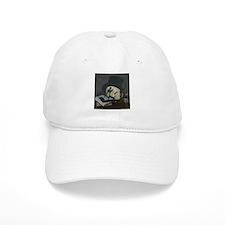 Masonic Skull Wearing Tile Baseball Cap