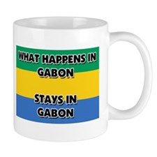 What Happens In GABON Stays There Mug