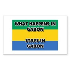What Happens In GABON Stays There Decal