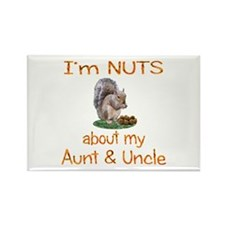 Aunt & Uncle Rectangle Magnet