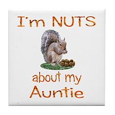 Auntie Tile Coaster