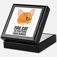 Pirate Cat Keepsake Box