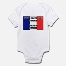 What Happens In FRANCE Stays There Infant Bodysuit