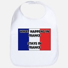 What Happens In FRANCE Stays There Bib