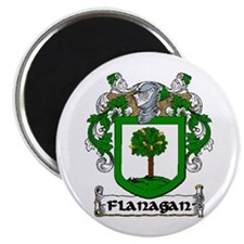"""Flanagan Coat of Arms 2.25"""" Magnet (10 pack)"""