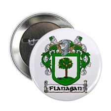 "Flanagan Coat of Arms 2.25"" Button (10 pack)"