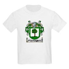 Flanagan Coat of Arms Kids T-Shirt