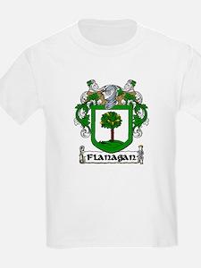 Flanagan Coat of Arms Kids T-Shirt
