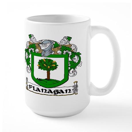 Flanagan Coat of Arms Large Mug