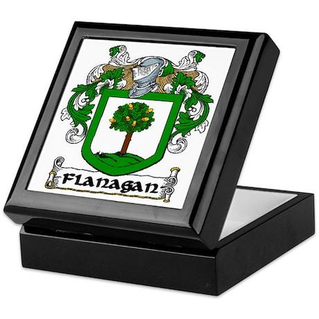 Flanagan Coat of Arms Keepsake Box