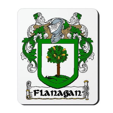 Flanagan Coat of Arms Mousepad