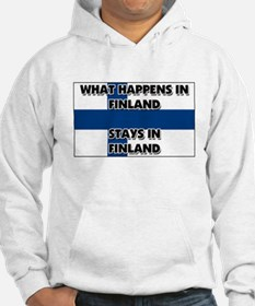What Happens In FINLAND Stays There Hoodie