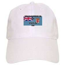 What Happens In FIJI Stays There Baseball Cap