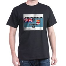 What Happens In FIJI Stays There T-Shirt