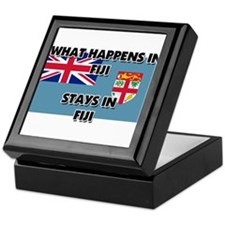 What Happens In FIJI Stays There Keepsake Box