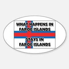 What Happens In FAROE ISLANDS Stays There Decal