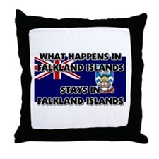 What Happens In FALKLAND ISLANDS Stays There Throw