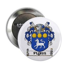 """Flynn Coat of Arms 2.25"""" Button (10 pack)"""